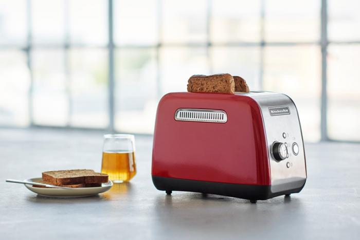 KitchenAid toaster - rød