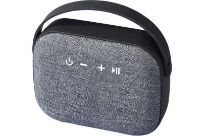Woven Fabric Bluetooth højttaler, sort