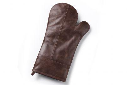 Grillhandske i læder