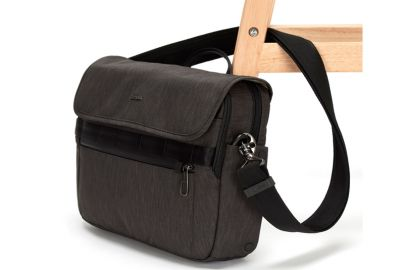 Pacsafe Metrosafe X messenger taske grå