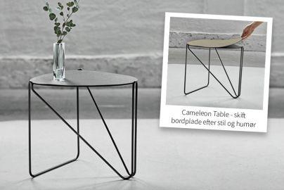LINDDNA SIDEBORD - CURVE CAMELEON TABLE HIPPO