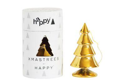 HAPPY XMASTREES GULD