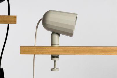 HAY Noc Clip lampe med klemme - hvid